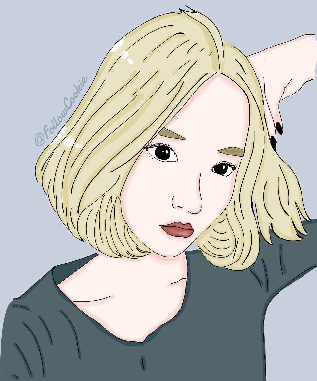 #FollowCookie #Asiangirl #koreangirl #mystyle #cool #blonde #eyes #color   #画像 #かわいい女の子 #金髪 #表情豊かな目  #韓国の女の子
