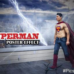 superman effect photo manipulation photomanipulation
