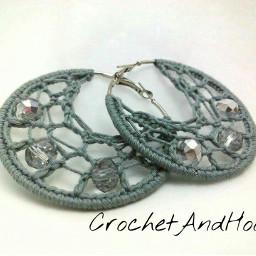 handmade earrings earringsdesign crochet crochetlove