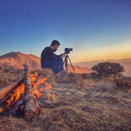 photography nature fire firewood camera
