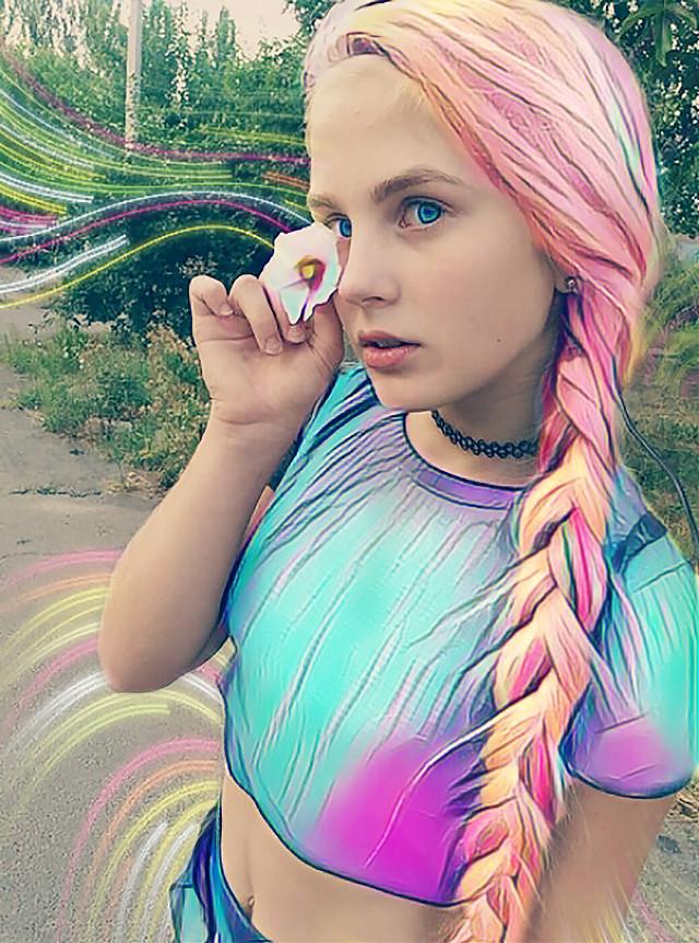 #FreeToEdit #magic  #rainbow