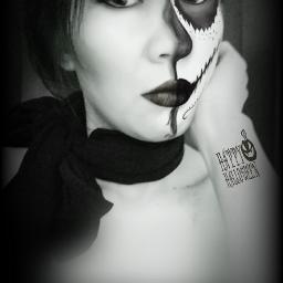 blackandwhite artisticselfie selfie november 1 freetoedit