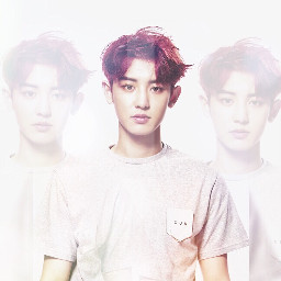 light exo chanyeol parkchanyeol transparent
