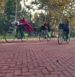 bike bikers happy chicas pasetjant freetoedit