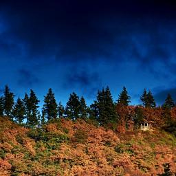 darkclouds autumn fall sky hdr