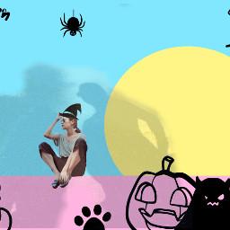 freetoedit halloween shadows