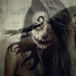 scorpion soulpiercing blacknwhite mask darkside