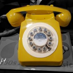 color yellowphone phone