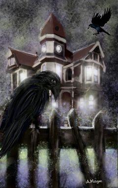 wdphauntedhouse colorsplash haunted creepy old