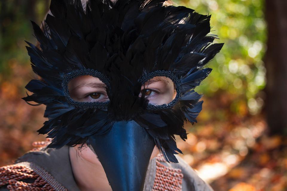 #FreeToEdit #bird #portrait #closeup #feathers #nature #cosplay