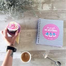 interesting flatlay cupcake photography