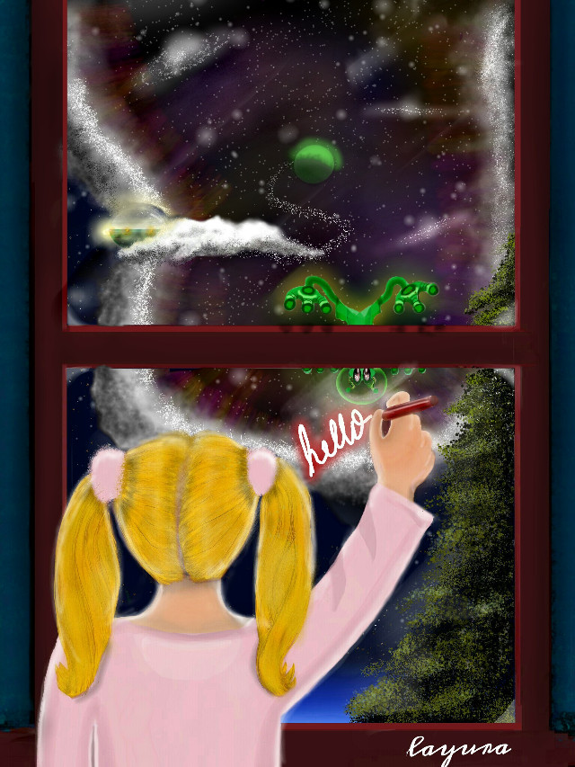 #wdpgalaxy #drawing  #fantasy  #portal