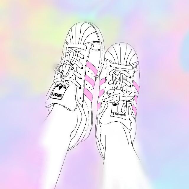#FreeToEdit  #adidas#tennis#pink#blue#yellow#purple