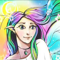 freetoedit liamausii rainbow effect
